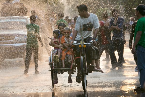 Water Festival Marks Start Of New Year In Myanmar