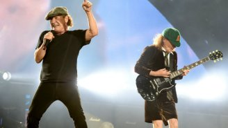 The Lead Singer Of AC/DC Flipped A Classic Racing Car And Walked Away With Hardly A Scratch