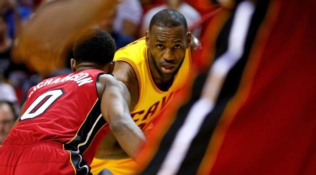 Cleveland Cavaliers v Miami Heat