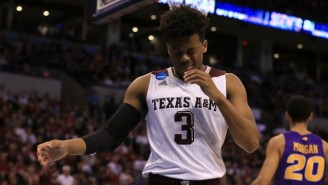 The Parents Of Texas A&M's Hero Player Left Before The Team's Epic Comeback Win