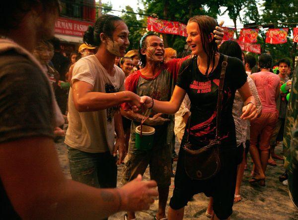 THA: Thais Soak Each Other In Songkran Water Festival