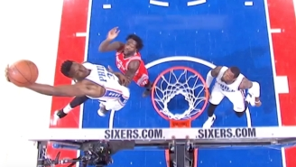 This Towering Alley-Oop By Jerami Grant Is The Type Of Play That Gives The Sixers Hope