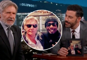 Harrison Ford Describes His Late-Night Meeting With MC Hammer On 'Jimmy Kimmel Live'