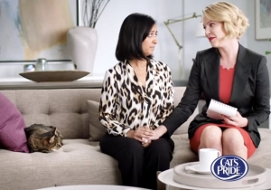 Katherine Heigl Stars In… A Brand New Cat Litter Commercial!