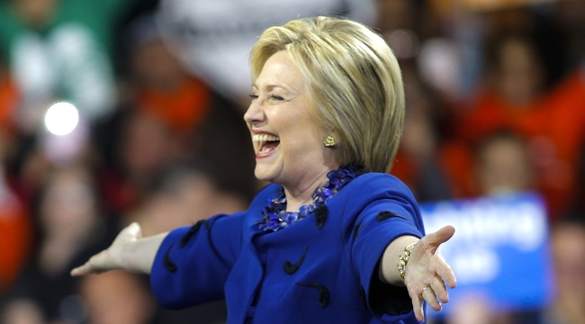Hillary Clinton Holds Post-Super Tuesday Rally In NYC