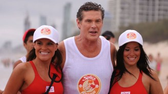 The Rock Finally Went Ahead And Added David Hasselhoff To His 'Baywatch' Movie