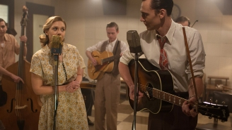 Elizabeth Olsen explains the skills it takes to sing off-key in 'I Saw the Light'