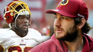 Former Redskin Brian Orakpo Says He'll 'Smack The Sh*t' Out Of Chris Cooley For His RGIII Comments