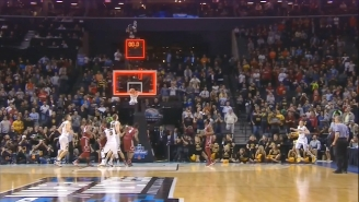 Watch The First True Buzzer-Beater Of The Tournament As Iowa Takes Out Temple In OT