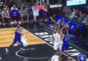 Ish Smith Just Banked In A Corner Jumper Off The Top Of The Backboard