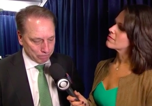 Tom Izzo Was Moved To Tears While Discussing The Career Of Denzel Valentine