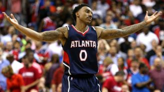 The Hawks Left Jeff Teague At The Stadium In Detroit On Saturday