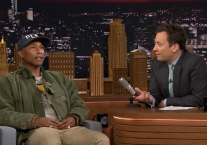 Pharrell Sings His Favorite TV Theme Songs With Jimmy Fallon On 'The Tonight Show'