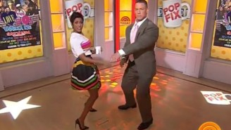 John Cena Danced to Salt N' Pepa On TODAY And Yes, It Was Glorious
