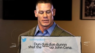 Watch John Cena And Other WWE Superstars Read Mean Tweets
