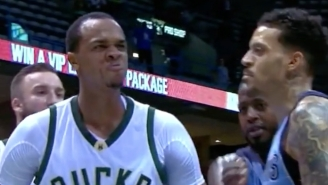 Matt Barnes Might Have Started A Fight After Chasing John Henson Into The Locker Room
