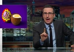 John Oliver Exposes The Dark Illuminati Conspiracy Behind Cadbury Creme Eggs