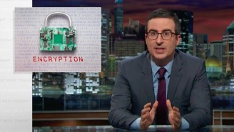 John Oliver Takes On The Complicated Nature Of Encryption On 'Last Week Tonight'