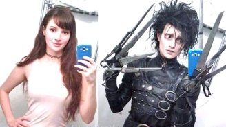 This Woman's Transformation Into Johnny Depp Cosplay Is Both Alluring And Incredible