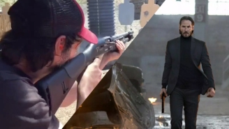 Watch Keanu Reeves Be A Badass While In Training For 'John Wick 2'