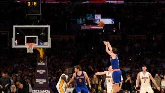 Jose Calderon Had Zero Reaction To His Game-Winner Over The Lakers
