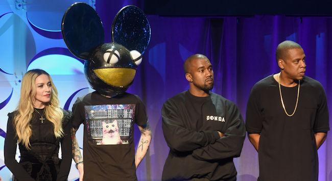 Kanye West Deadmau5 lead