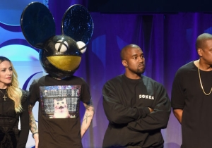 Kanye West Mercilessly Clowns Deadmau5's 'Minnie Mouse' Mask In His Latest Twitter Spree
