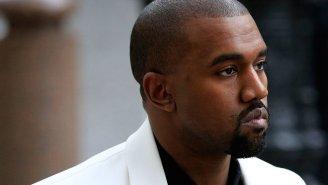 Kanye West loves himself in 20-foot mural