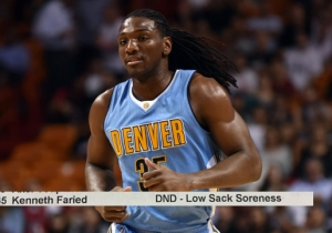 Superb Typo Makes Kenneth Faried's Injury Sound Way Worse Than It Actually Is