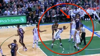 Greg Monroe Just Did Not Want To Give Khris Middleton A High-Five