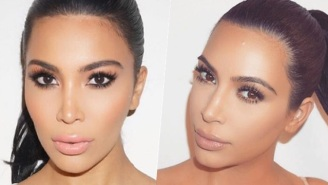 Kim Kardashian Meets Her Lookalike And There's No Frigging Way To Tell Them Apart