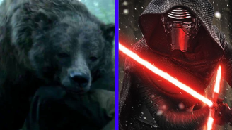 A Heroes Vs. Villains Debate: Kylo Ren Vs. The Revenant Bear!