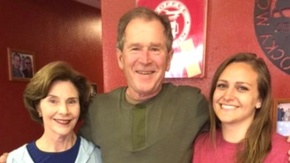 George W. Bush Drops A Massive Tip And The Waitress' Tweet Goes Viral