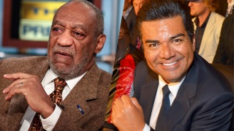 Bill Cosby Had Some Strange Advice For George Lopez Before He Hosted The 'Playboy' Jazz Festival