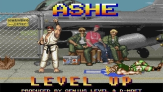 Ashe Remixes A 'Street Fighter' Anthem For 'Level Up'