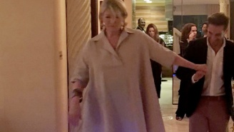 Martha Stewart Tried A Hoverboard While Champagne Drunk Because She's Still Cooler Than You