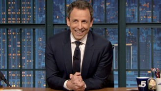 Seth Meyers Tells The Adorable Story Of His Son's Birth And Why The Kid Isn't Named After An Olsen Twin