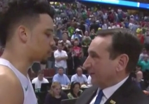 We Now Have Proof That Mike Krzyzewski Lied About Not Lecturing An Oregon Player