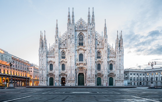 milan cathedral getty