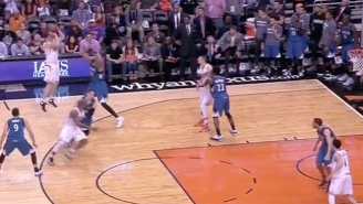 Mirza Teletovic Sent The Suns To Victory In The Final Seconds With This Deep Fadeaway Three