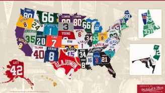 What's The Best Selling Throwback Jersey In Your State? This Map Has The Answer.