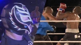 UR Fight Results: Roy Jones Jr. Scores A Big KO And Rey Mysterio Beats Kurt Angle