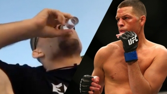 Nate Diaz Was Taking Shots Of Tequila When He Got The Call To Fight Conor McGregor