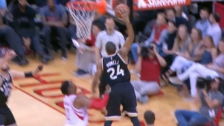 Dwight Howard Wanted No Part Of Raptors Rookie Norman Powell On This Soaring Slam