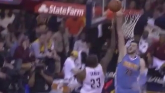 Jusuf Nurkic Follows Up A Nasty Block On LeBron James With A Mocking Stare-Down
