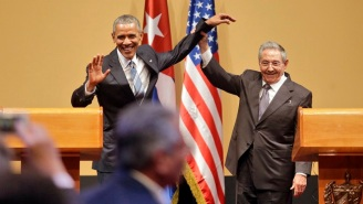 Obama And Castro Fight Over Human Rights Questions During Their Intense Joint Press Conference In Cuba