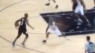 Chris Paul Showed A Shoeless Patty Mills Absolutely No Chill With This Filthy Crossover