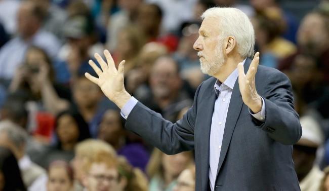 San Antonio Spurs v Charlotte Hornets