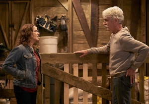 Why are Debra Winger and Sam Elliott doing a multi-cam sitcom for Netflix?
