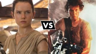 A Heroes Vs. Villains Debate: Rey Vs. Ripley